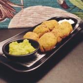 Falafel Con Guacamole Y Mayonesa Vegana