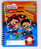 Cuaderno Espiral A4 100Hjs Cuadros Parvulario Mi Primer Cuaderno