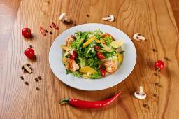 Мікс салат з креветками (250г)