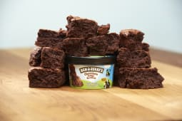 Ben & Jerry's Chocolate Fudge Brownie - coppetta
