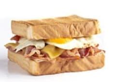 Sándwich todo al bacon