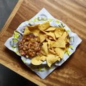 Chips con pico de gallo XL
