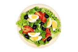 Insalata Saggezza con Uovo Sodo & Olive