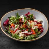 Салат з лососем і голубим сиром (170г)