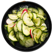 Seasoned cucumber salad