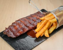 Barbeque ribs