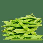 Judias Perona al vapor con aceite de oliva virgen extra y sal 25o g