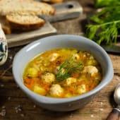 Суп з фрикадельками (250г)