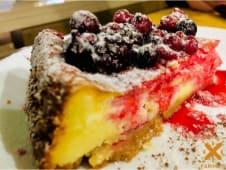 Cheesecake cotta al naturale