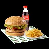 Combo 6 Sandry de pollo - hamburguesa de pollo, tomate, lechuga..