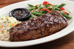 Fridays signature New York  strip steak 580g