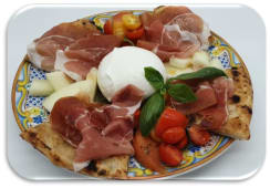 Bufala, Parma e melone