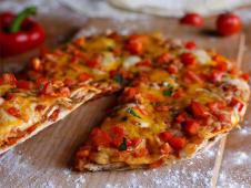 Pizza Fajitas pui