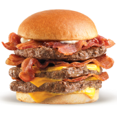 Baconator triple