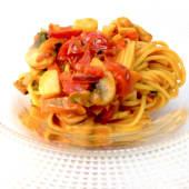 Spaghetti cu legume