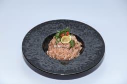 Rižoto tunjevina porcija (posno)