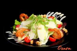 Салат від шефа з креветками (200г)