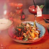 X verduras al wok