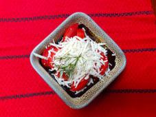 Salată de roşii cu telemea