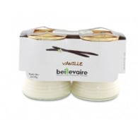 4 yaourts à la vanille (Fromagerie Beillevaire)