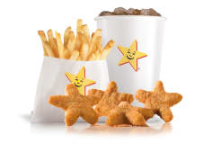 Menú Cool Kids Chicken Stars (4 uds.)