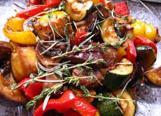 Овочі, запечені на мангалі (300г)