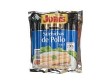 Salchicha de pollo Juris tipo 1 (200 g.)
