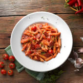 Penne all'arrabbiata di pepperoni