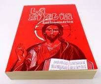 Biblia Latinoamericana Pasta Rustica Roja