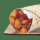 Burrito 1/2 libra de carne y papa