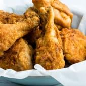 Alette di pollo panate e fritte