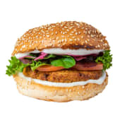 Burger Vegana Casera