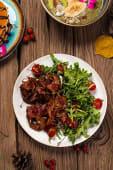 Смореброд з рослинним м'ясом і вершковим сиром (250г)