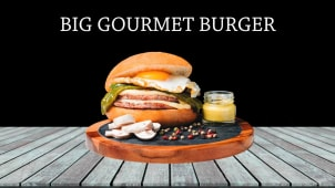Big Gourmet Burger