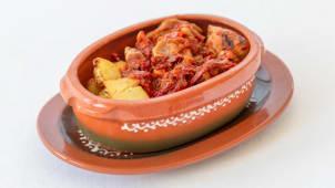 Leskovačka mućkalica sa svinjskim mesom - ljuto