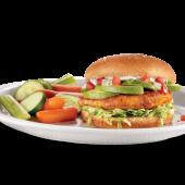 Chicken avocado sándwich