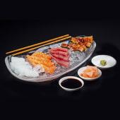 4 piezas de salmón