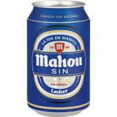 Cerveza Mahou sin (33 cl.)