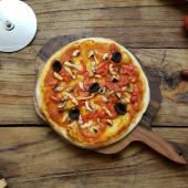 ვეგეტარიანული პიცა 16 სმ
