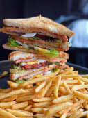 Cotoletta sandwich & french fries