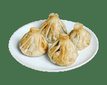 Хінкалі смажені з телятиною (280г)