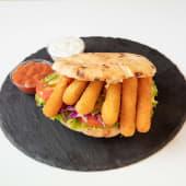 Mozzarella sticks Sandwich