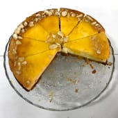 Cheesecake de mango al amaretto