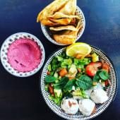 La healthy chicken salade