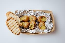 Равлики в соусі з Діжонською гірчицею (6шт)