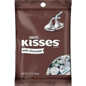 Hersheys Milk Chocolate Kisses Peg Bag-150G