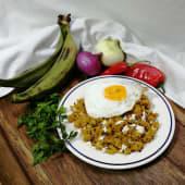 Tigrillo con huevo