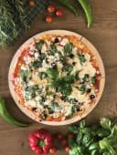 26. Pizza Szpinakowa