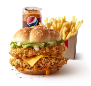 Mighty Zinger (frites moyennes + canette 25cl)
