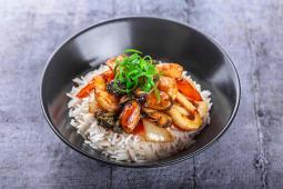 Рис з морепродуктами (350г)